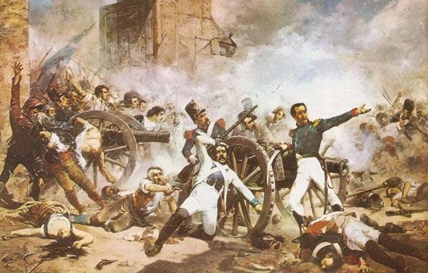 Resultado de imagen para batalla del 19 de marzo