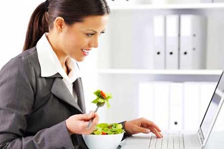 Comer-Trabajo